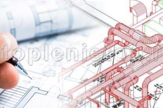 Проекирование систем воздушного отопления зданий